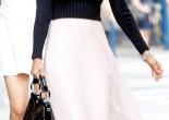 suéter com vestido como usar