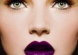 lábios roxos