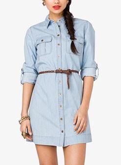 Denim-Shirt-Dress-with-Belt-248x338
