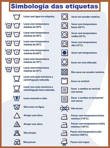 etiqueta lavagem significado